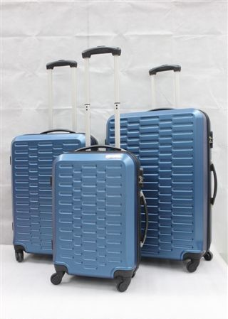 yanteng classic ABS luggage in blue color