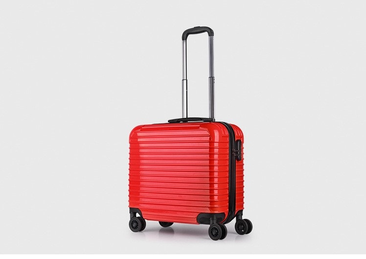 yanteng laptop small suitcase in red color