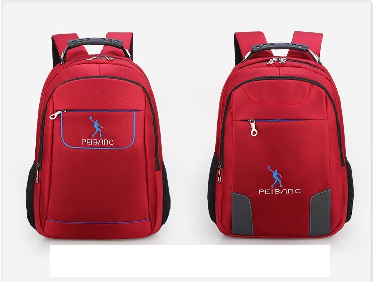 Yanteng stylish girls'  backpack in red color