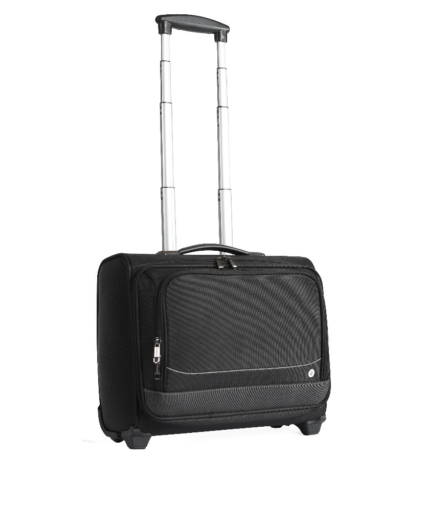yanteng classic business travel luggage bag  in black color
