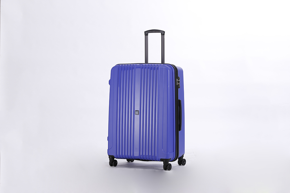 yanteng classic pp luggage in dark blue color