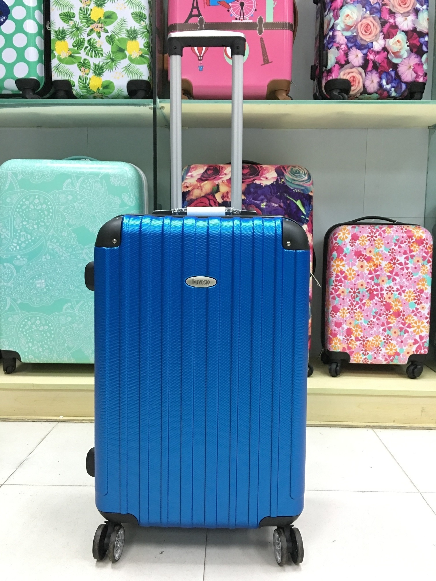 yanteng lucas luggage with anti-shock double-caster wheels